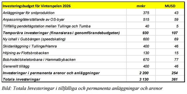 Investeringsbudget