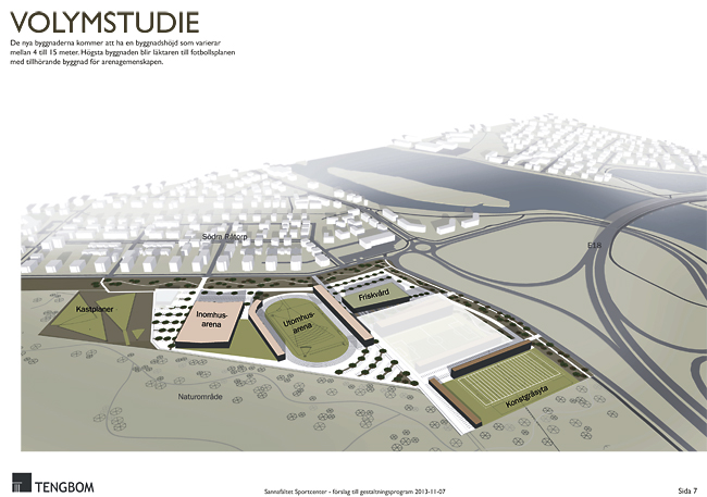 Vid Sannafältet(se skiss nedan) kommer det att byggas en inomhus- och en  utomhusarena och en konstgräsplan. Och det blir tak över Tingvalla  isstadion. 9dfc313c1dbc9
